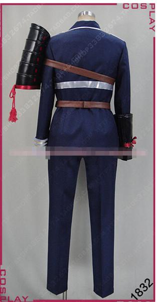 Halloween Touken Ranbu Online Namazuo Toushirou Uniform Cosplay Costumes Adult