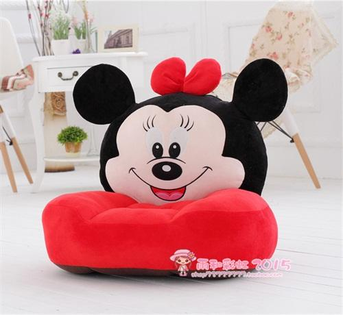 cartoon sofa chair. Cartoon Beanbag Plush Animal Sofa Chair Cute Little Baby Single Washable Toys For Children
