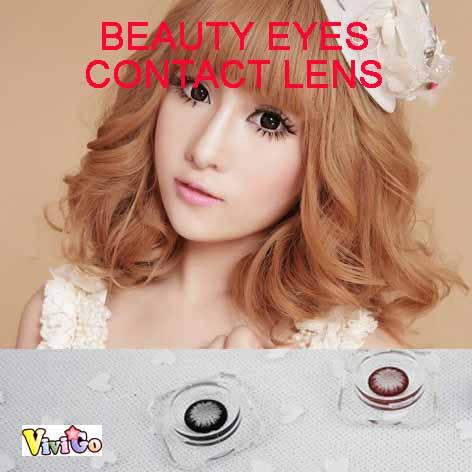 Big Diameter Circle Color Cosmetic Soft Contact Lens Beauty Eyes