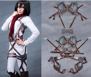 Attack On Titan Shingeki No Kyojin Mikasa Ackerman Cosplay Costume Belts Harness Team Halloween Costume Halloween Theme Party Costumes From Toycity
