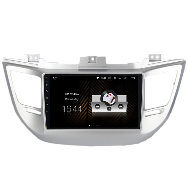 "9"" 2G RAM Android 7.1 Auto Stereo Radio For Hyundai Tucson 2014+ With GPS Navigation BT WIFI 4G OBD DVR SWC RDS HDMI Quad Core NO CAR DVD"
