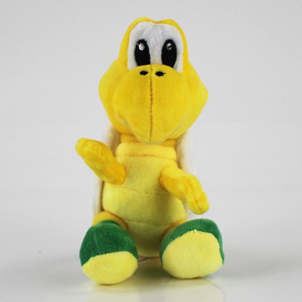 2pcs/set 16cm Super Mario Koopalings Plush Toys Koopa Troopas Stuffed Soft Plush Doll for Child Gifts Wholesale