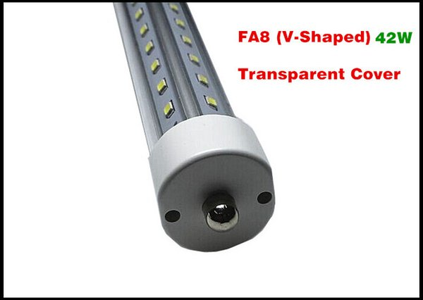FA8 (V-förmig) Klarsichtdeckel