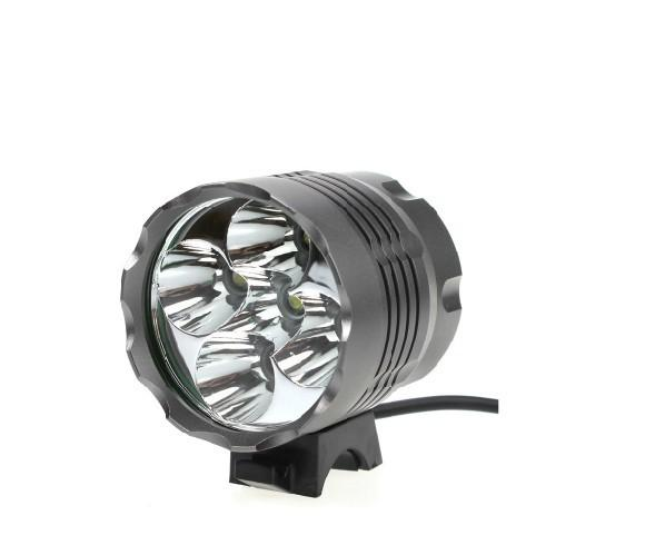 5x Cree XML T6 LED Mountain Bike Lights Rechargeable Bicycle Front Light Lamp