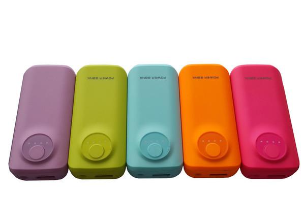 Banco de potência De Borracha pequeno peixe boca óleo 5600 mah carregador portátil carregador de bateria externa poderes de backup para samsung iphone ipad