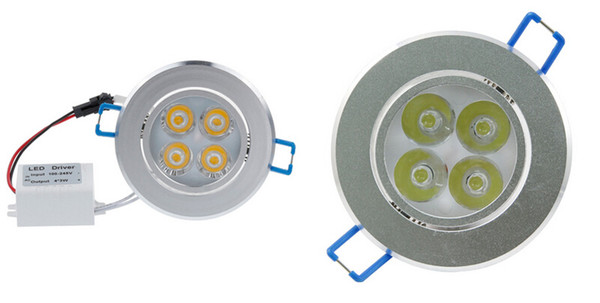 Downlights 9W 12W AC85V-265V LED Ceiling Downlight Recessed LED Wall lamp Spot light With LED Driver For Home Lighting