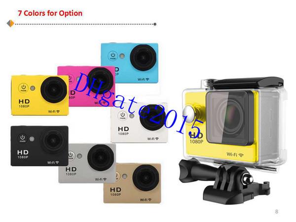 Original Eken H9 Ultra HD 4K Video 170 Degrees Wide Angle Sports Camera 2  Inch Screen 1080p 60fps Gopro Hero Action Camera Action Video Camera Intova