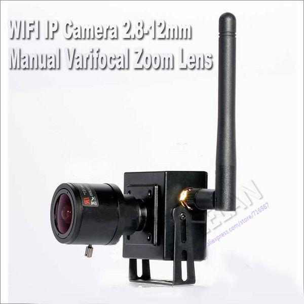 960P wireless ip camera 2.8-12MM Manual Varifocal Zoom Lens P2P Plug and Play onvif HD wifi camera network web plug play HI3518E