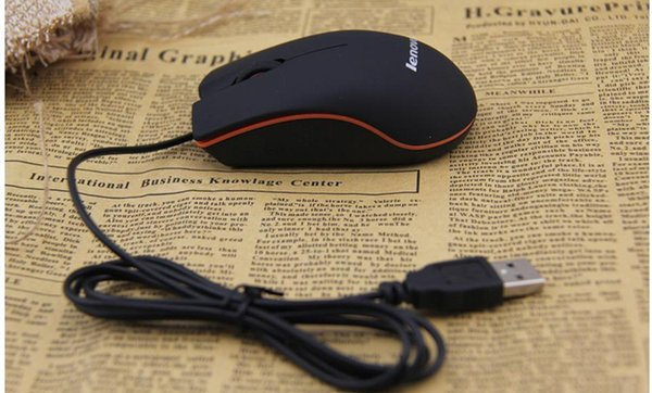 best selling Lenovo M20 Mini Wired 3D Optical USB Gaming Mouse Mice For Computer Laptop Game Mouse Free Shipping