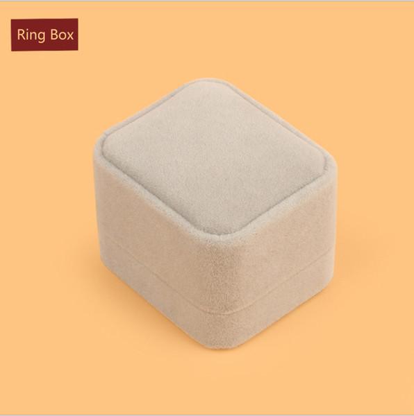 Grey Ring Box