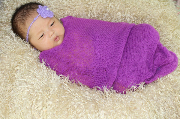 Online Cheap Free Crochot Pattern Baby Crochet Wrap Stretch Knit ...