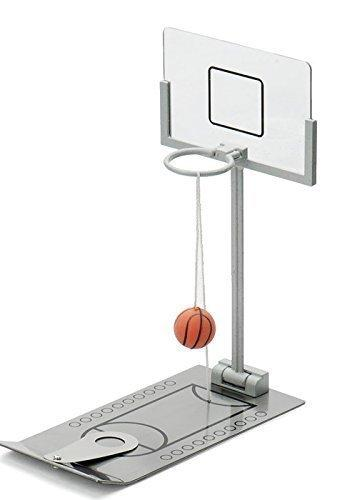 Basketball Game Mini Tabletop Portable Travel or Office Game Set for Indoor or Outdoor Fun Sports Novelty Toy or Gag Gift