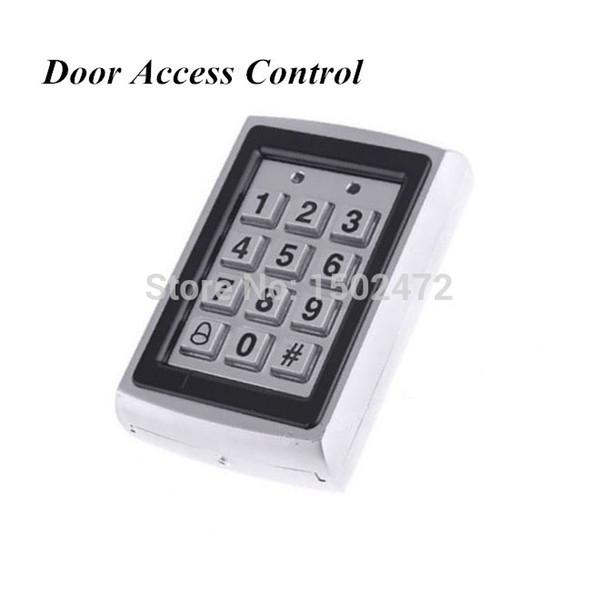 top popular Factory Outlet Door Mirror RFID Reader & Keypad Door Access Control Waterproof Metal Keypad Case 2021