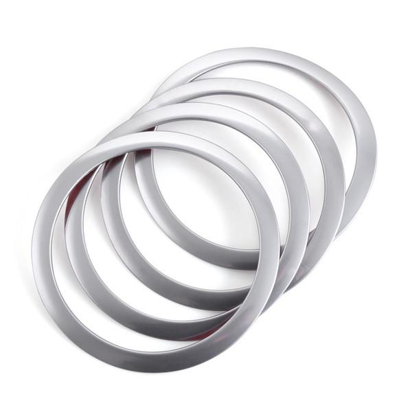 Stainless Steel Interior Speaker Sound cover trim ring For BMW 3-SERIES F30 F34 320 328 328li 316i 335 X5 X6