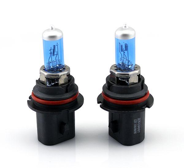 1 ШТ. 9007 100 Вт XENON супер Синий Галогенные Лампы Фар Автомобиля 5500 К