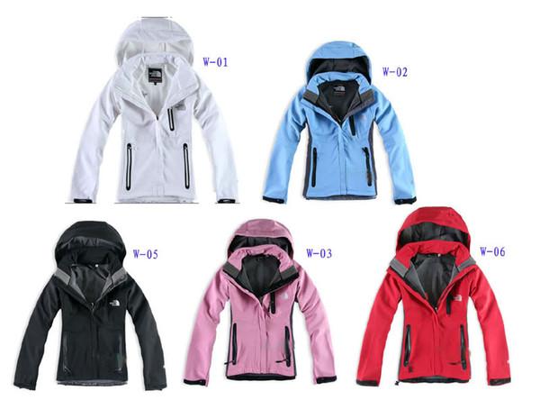 2018 Die Frauen Norden Denali Fleece Hoodies Jacken Mode Lässig Warm Winddicht Ski Face Coats Best Preis Jacken Anzüge S-XXL