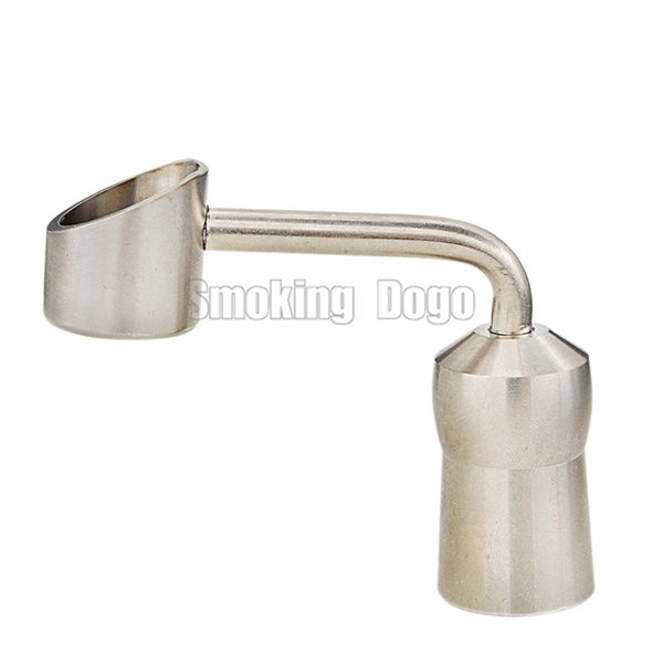 Smoking Dogo Latest Domeless Titanium Banger Nail With Female Joint Universal 14.4mm and 18.8mm fit Glass Bongs and Oil Rig