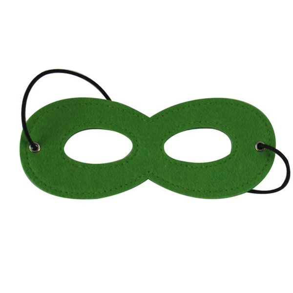 Compre Super Kids Hero Máscara Con Cualquier Color Para Disfraces De ...