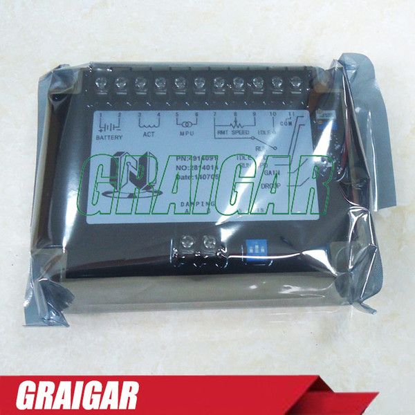 Free shipping UNIT EFC 4914091 SPEED CONTROL Generator accessories speed controller governor speed control board