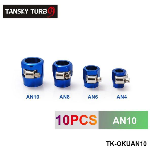 TANSKY - High Quality AN10 Fuel Oil Water Tube Hose Fittings Finisher Clamps 21MM (have in stock) TK-OKUAN10.