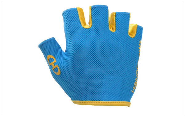 Wholesale-Bodybuilding or Sports Fingerless Gloves Breathable Anti-abration Breathable Mesh Glove Free shipping