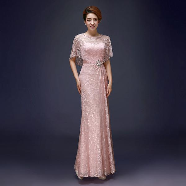 Evening Dresses With Short Sleeve V Neck Beaded Bodice Ruffled ...