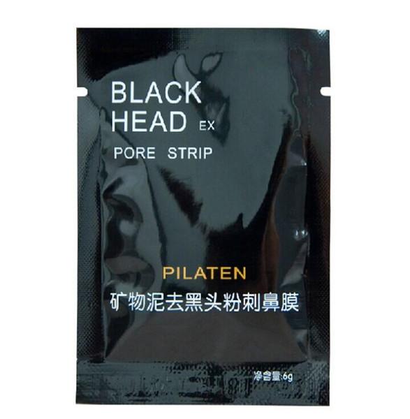 5,000Pcs/lot PILATEN Face Care Facial Minerals Conk Nose Blackhead Remover Mask Pore Cleanser Deep Cleansing Black Head EX Pore Strip
