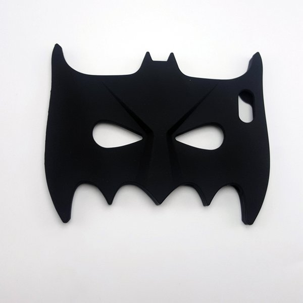 3D Cool Big Hero Batman Eyeshade Soft Silicone Chirstmas Cover Back Phone Cases for Iphone5 5s 6 6s 6plus 7 7plus