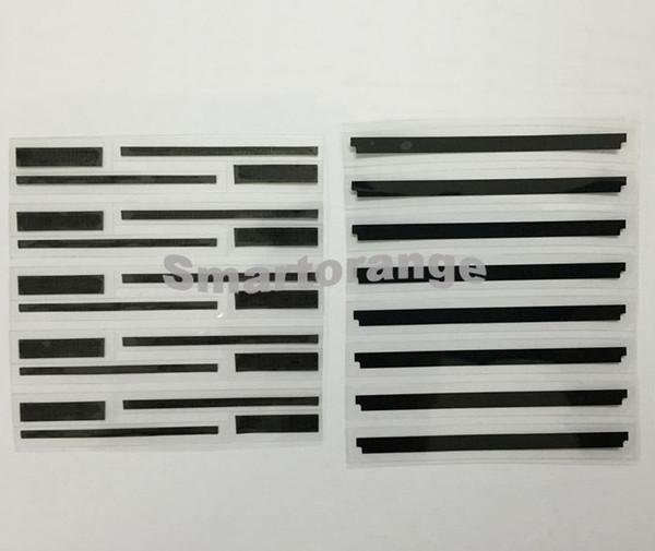 3 in 1 Lcd Bildschirm schwarz Kapton Band antistatische antistatische Aufkleber Streifen für iPhone 6 4.7 (10sets)