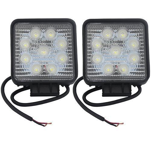 LED Work Light 4Inch 27W work lamp 12V 24V Motorcycle Tractor Truck Trailer SUV Boat 4WD 4x4 offroad work light