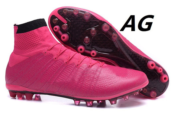 2017 Cheap Soccer Shoes 2015 New Mercurial Superfly Ag Hyper Pink ...
