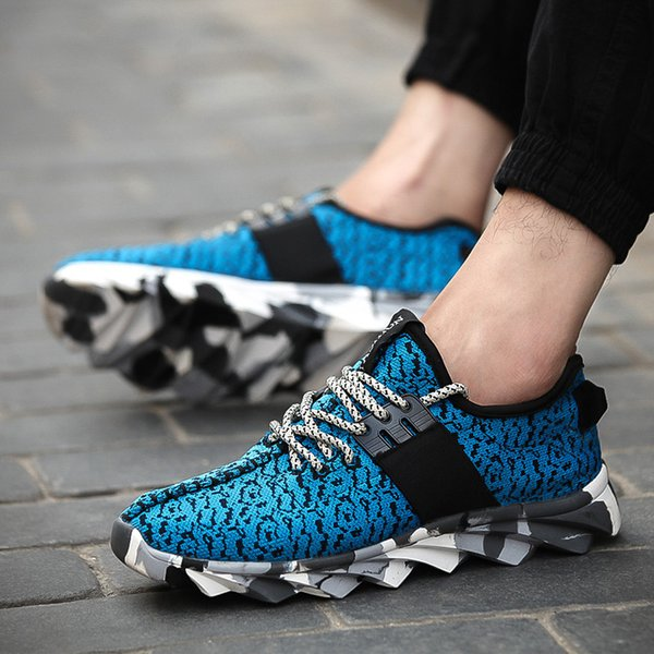 796f832fda49 Wholesale-New 2016 Men's Shoes Breathable male trend fly woven sports  recreational shoe male fashion