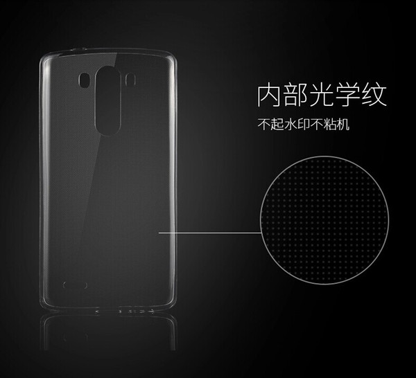 Gel trasparente TPU Crystal Clear Ultra sottile 0,3 mm Trasparente Custodia morbida per cover posteriore per LG G2 G3 G4 G5 V10 K10 K7 G Flex Stylus 2