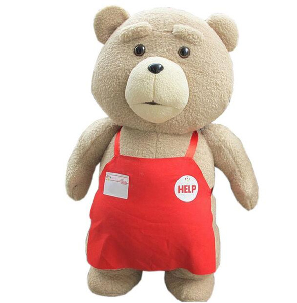 Big Size 46 cm Original Teddy Bear Stuffed Plush Animals Ted 2 Plush Soft Doll Baby Birthday Gift Kids Toys
