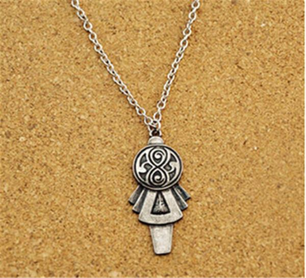 Doctor Who Necklace prop Tardis Key Necklace Pendant