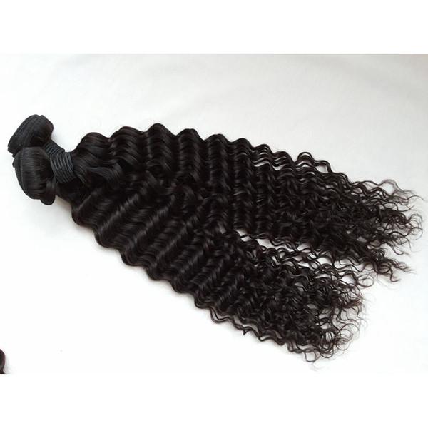 Brazilian Hair Human Virgin Hair Weaves Extensions Malaysian Indian Virgin Hair Deep curly Bundles Unprocessed G-EASY Best Quality