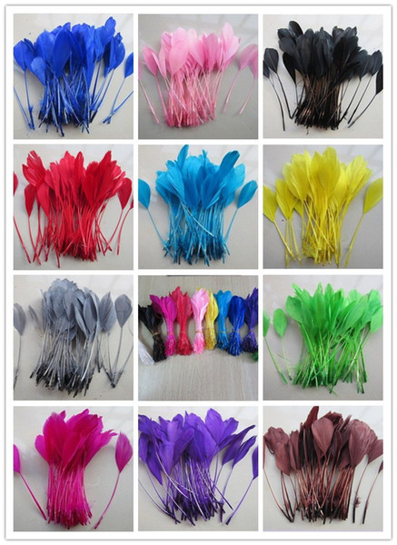 Marabou feathers 20 large 10-15cm feathers per pack bleached white.