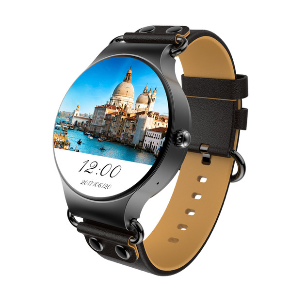 2017 New KW98 3G Smartwatch Android 5.1 8GB/512MB Wifi GPS Bluetooth Phone Heart Rate Monitor MTK6580 Android Watch For Samsung xiaomi