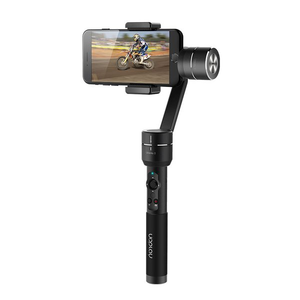 Freeshipping Uoplay 2 / Uoplay 2S 3-Axis Handheld smartphone Steady Gimbal Stabilizer for Smart phone 6 7 For GoPro 3 4 & Action Camera