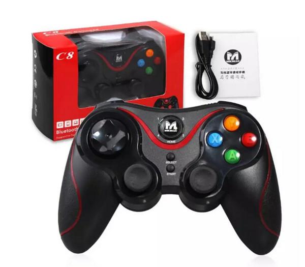 2018 terios t3 drahtlose bluetooth gamepad joystick spiel gaming controller fernbedienung für htc android smart phone tablet tv box