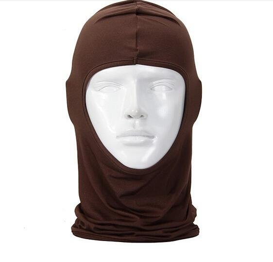 10шт Маска ветрозащитный хлопка в полном лица защита шеи маски ниндзя головные уборы шляпа езда Туризм Спорт на открытом воздухе Велоспорт маски
