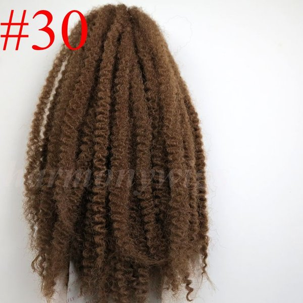 #30/Auburn Brown