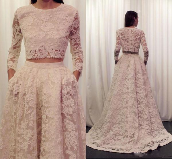 Full Lace Prom Dresses