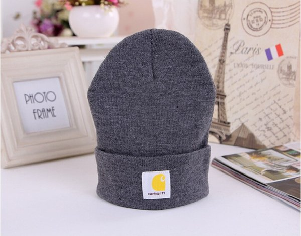 d7e438b1d8a brand knit hat Coupons - Wholesale-Women men winter caps hats carhart brand knitted  hat