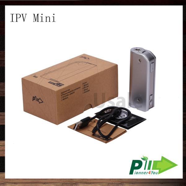 Pioneer4you Ipv Mini 30W Box Mod Yihi SX130 Chip Fit 18650 Battery VW E-cigarette Mod 100% Original