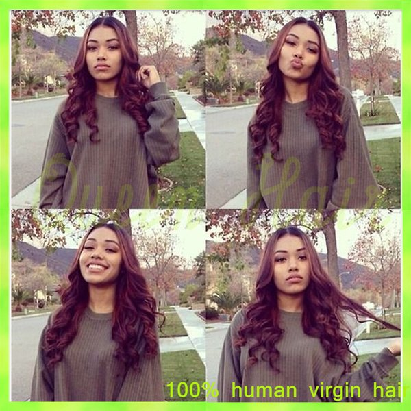 7A Brazilian Lace Front Human Hair Wig Cheap Glueless Body Wave Lace Front Wigs Or Full Lace Wigs Bleached Knots For Black Women