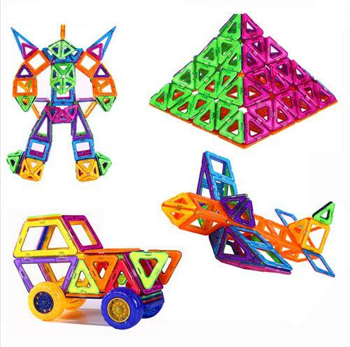 best selling 72pcs Set Wheels Set Similar Mag formers Toy Bricks 3D MAGNETIC BUILDING TOY Magnet Block Building Mag formers Creative Toys