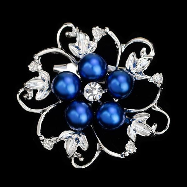 Großhandel Brosche kleidung Korean fashion alloy perle brosche Nachahmung Perle Frauen Hochzeit Geschenk Freies Verschiffen