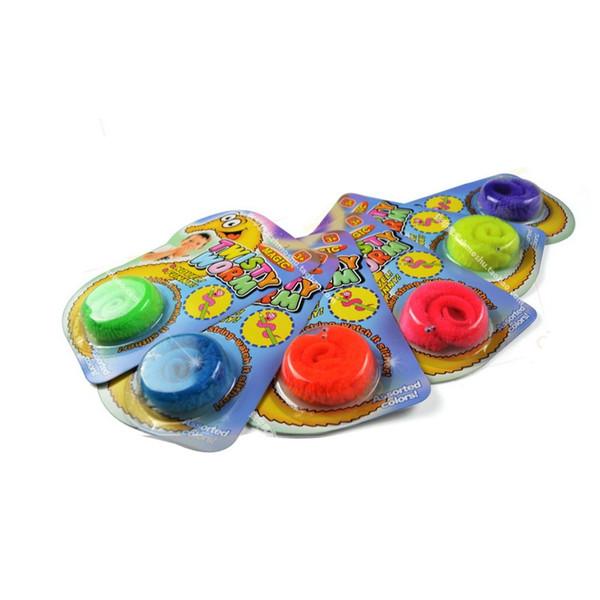 Magic Tricks Toys Peluche Mr.Fuzzy Magic Wiggle Wormle Twisty Worm Stuffed Animals Toy per bambini