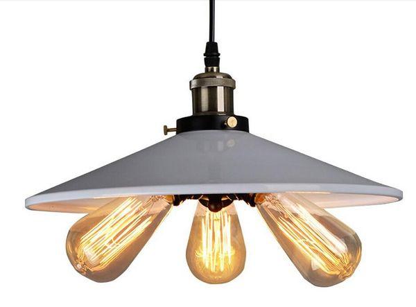 2016 new design Personality American Country Industrial Lamp Vintage RH Loft Warehouse Pendant Light 3 Heads Droplight Iron Art Lighting